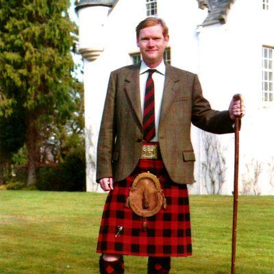 Major Sir Malcolm MacGregor of MacGregor, Hereditary Chief